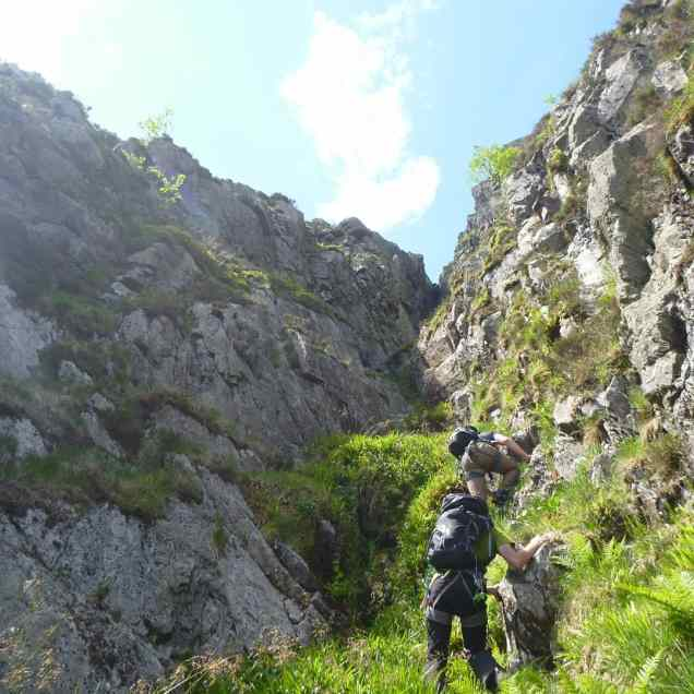 Approaching the Gully