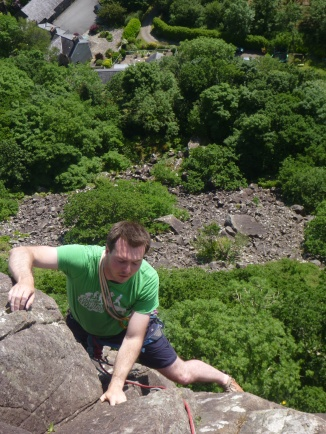 Hot and sunny at Tremadog