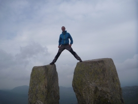 standard Tryfan summit shot