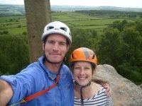 finishing the climbs on Birchen