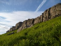 Stanage basking in the evening sun