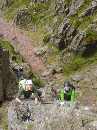 Jamie and Sam on Needle Ridge