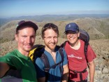 Summit of Scafell Pike with Mav and Sam