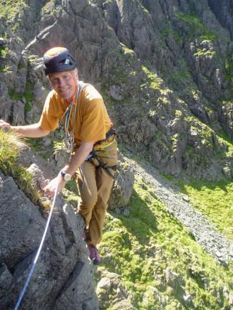 Stephen on New West Climb