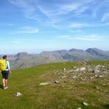 Hiking back to Seathwaite