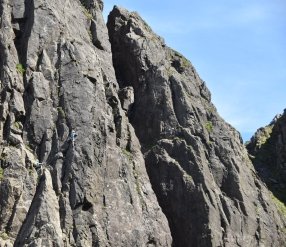 Rib and Slab Climb - Photo Stephen Reid