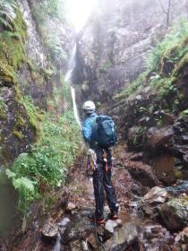 contemplating further waterfalls - Photo Tom Adams