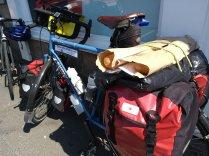 baguettes on a bike