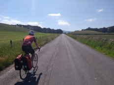 Lovely smooth roads in the Borders