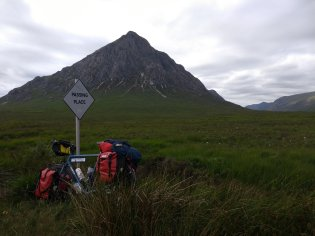 Arriving at the Buchaille