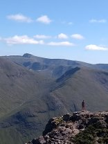 High above Glen Etive