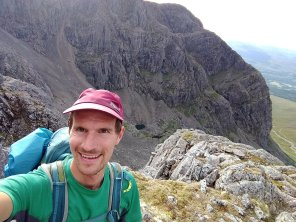 Tower Ridge with the Trident Buttress in the background