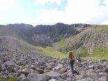 Approaching Savat Slit in Corie an lochain
