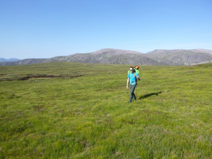 On our way to Ben a'Bhuird