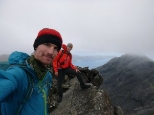 Summit of Sgurr Dubh Mor