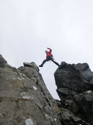 Gap jumping