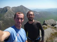 The summit of Cir Mhor