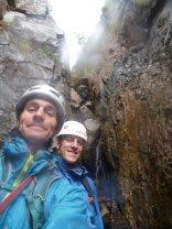 The first bit of climbing