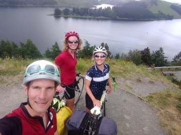 Team Bristol to North Wales after another steep hill